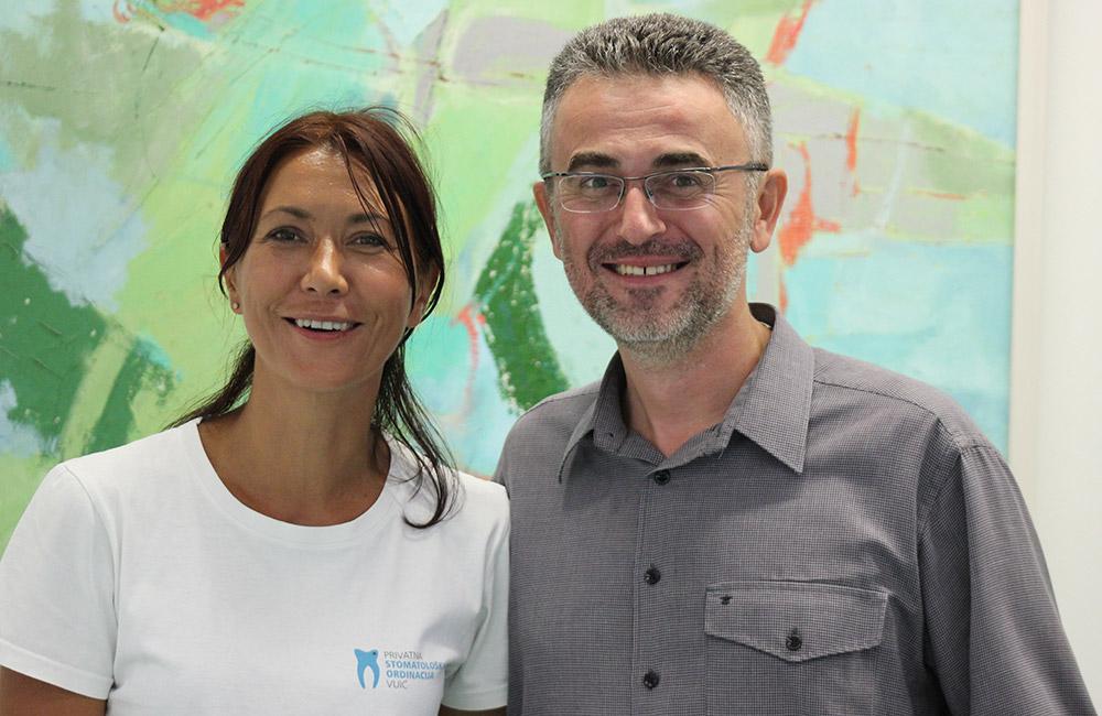 Doktorica Sanja Vuić i zadovoljni pacijent, meteorolog Zoran Vakula