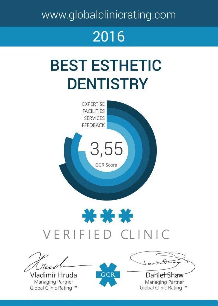 Ordinacija Vuić - Best Esthetic Dentistry 2016