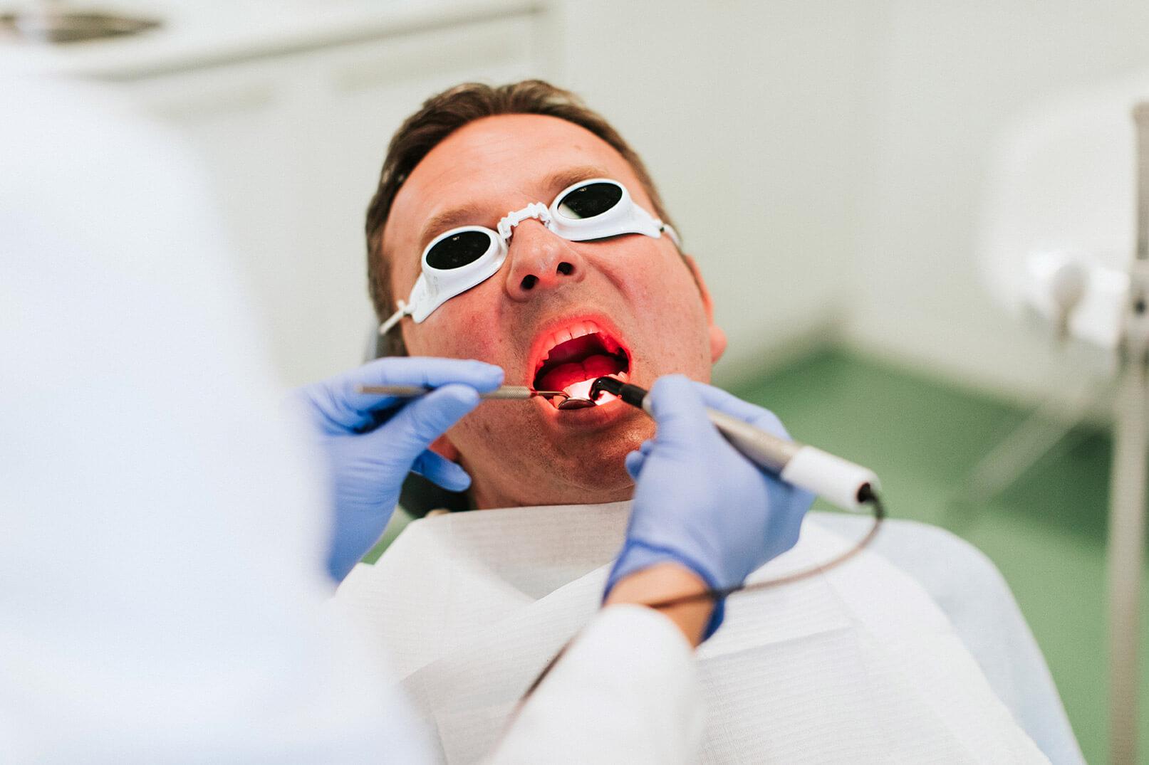 dentalni laser, laserski zahvat, liječenje laserom, sirona, ordinacija sanja vuić, zagreb